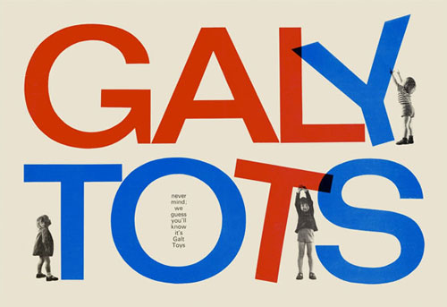 Ken Garland Galy Tots print at Trunk