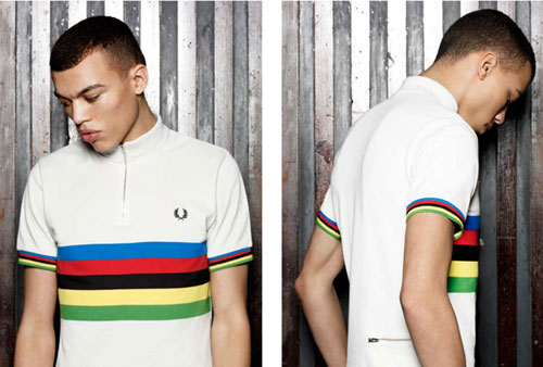 Fred Perry Blank Canvas cycling shirts