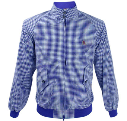 Baracuta G9 gingham Harrington