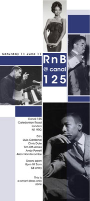 RnB @ Canal 125 – London