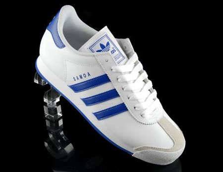 adidas samoa trainers navy blue