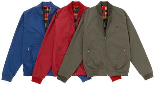 Fred Perry Ventile Bomber Jacket
