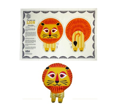 Lion Tea Towel