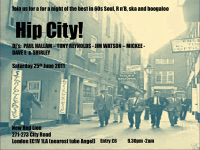 Upcoming Hip City! in London