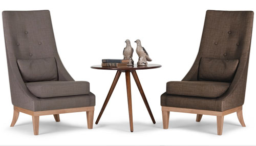 Genial A Contemporary Design With A Nod To The Past, Courtesy Of The Boyd High  Back Chair At Made.com.