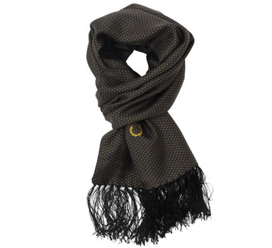 New Fred Perry x Tootal scarves