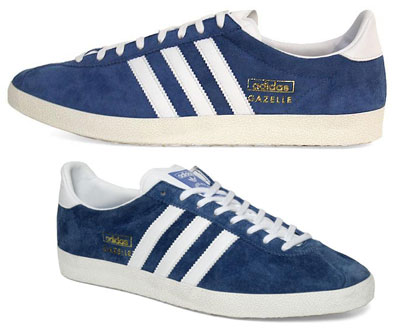 Adidas Gazelle Og Blue Trainers
