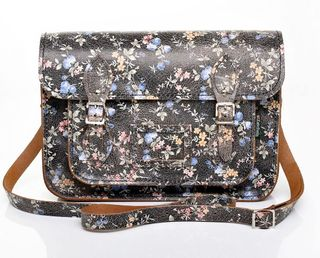 Zat94_black_with_small_floral_pattern_leather_satchel