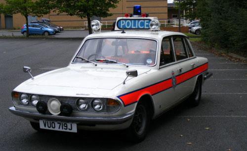 Ebay Watch 1970s Triumph 2000 White Police Car And Period Accessories Retro To Go