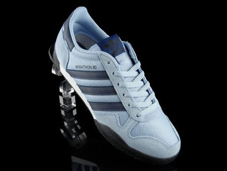 Adidas Marathon 80 trainers get a light blue reissue - Retro to Go e3ba4e52c