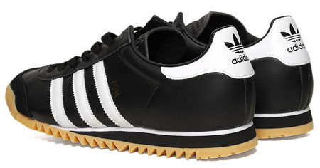 adidas kick trainers black and white