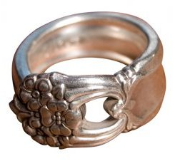 Silverspoon ring