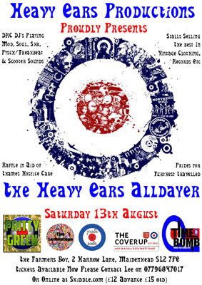 Heavy Ears Alldayer – Maidenhead