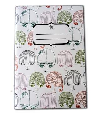 Mod girls notebook