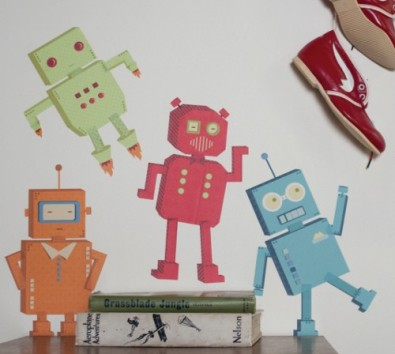 80192-Robots-Fabric-Wallsticker
