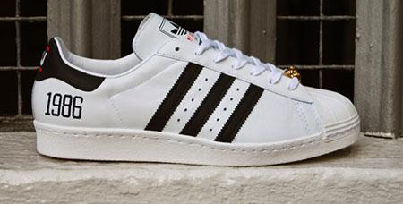9daa3747b319 Adidas x Run DMC My Adidas Superstar 80s trainers - Retro to Go