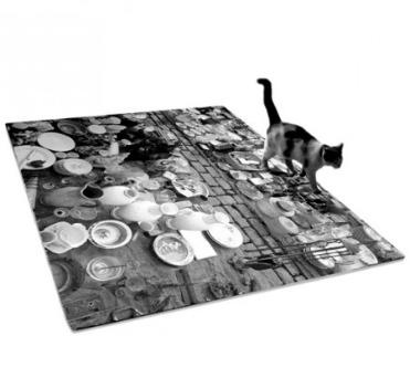 Flea market rug