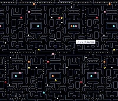 Pacmanfabric