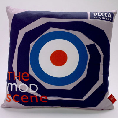 The Mod Scene cushions by Michelle Mason