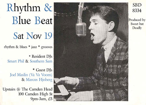 Rhythm and Blue Beat night – London