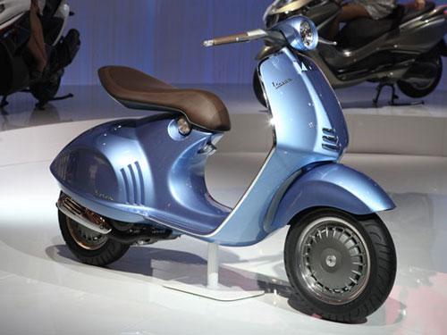 Piaggio unveils the Vespa 46