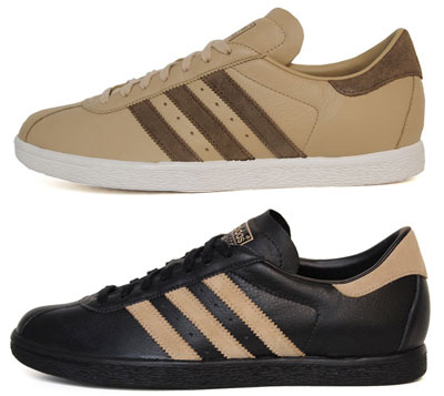 e1b14165b13 1970s Adidas Tobacco trainers reissued in two colour options