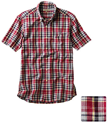 Uniqlo madras check shirts – discounted