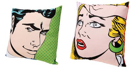 Pop cushions