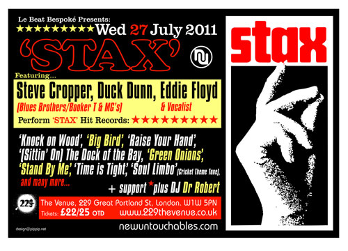Stax Live in London