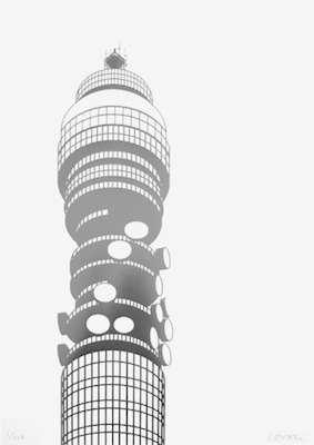 BT Tower metal