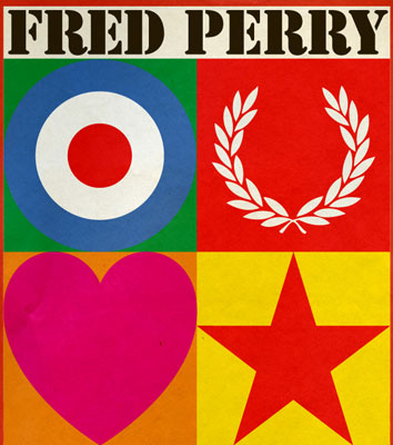 Fred Perry x Sir Peter Blake range