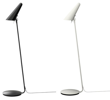 arne jacobsen like ikea stockholm floor lamp retro to go. Black Bedroom Furniture Sets. Home Design Ideas
