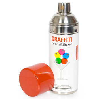 Switched On Set: Graffiti Cocktail Shaker