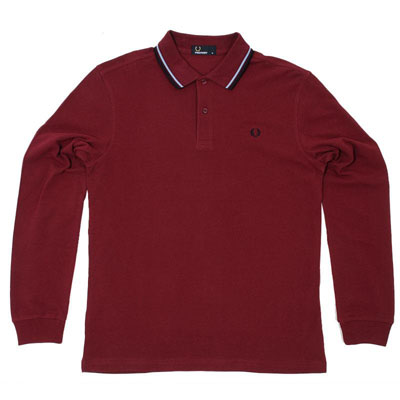 Fred Perry long-sleeved polo shirts