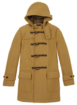 His Knibs classic men&39s style: Wool duffle coat at Uniqlo