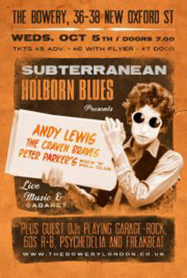 Subterranean Holborn Blues – London