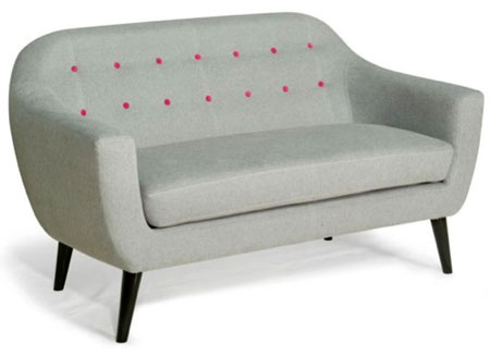 linea midcentury style morgan sofa range at house of fraser retro