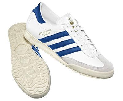 ... Adidas Beckenbauer Allround trainers get a white and blue reissue ... 5f5638ef0