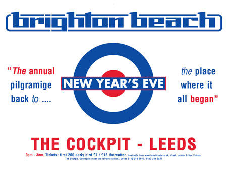 Brighton Beach NYE – Leeds