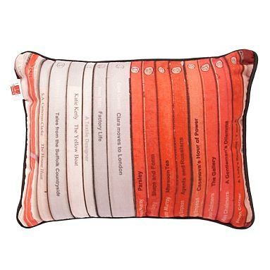Books cushion