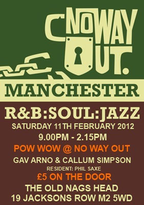 No Way Out night – Manchester