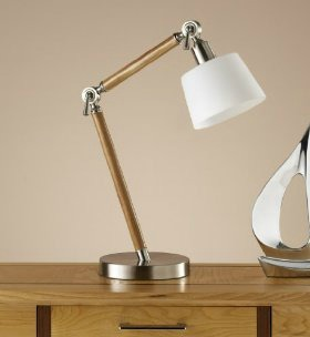 hybrid task lamp from marks and spencer retro to go
