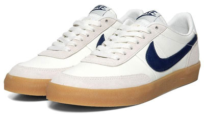 5725e32f43f A blast from the past – or the 1970s anyway – with a reissue of the Nike  Killshot II trainers.