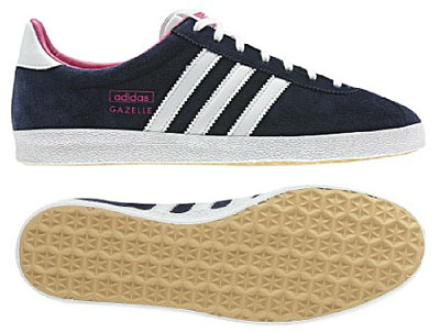 Women s Adidas Gazelle OG trainers in navy blue - Retro to Go 9687f0208fd3