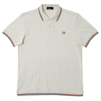 Fred Perry Tipped Hem Polo Shirts