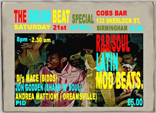 Brum Beat Special – Birmingham