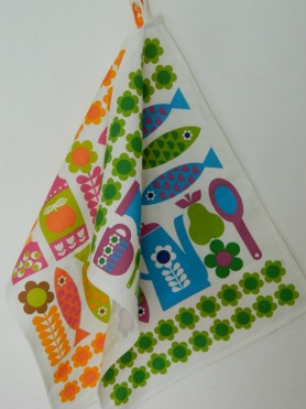 Scandi tea towel