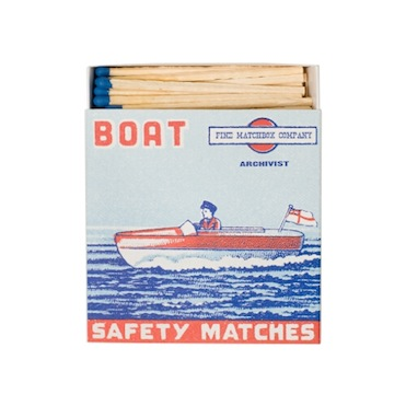 Archivist Matches Boat