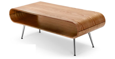 1960s inspired henley storage coffee table at made retro - Table basse style nordique ...