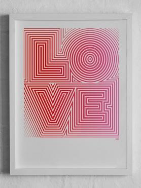 Love print Yeah No Yeah